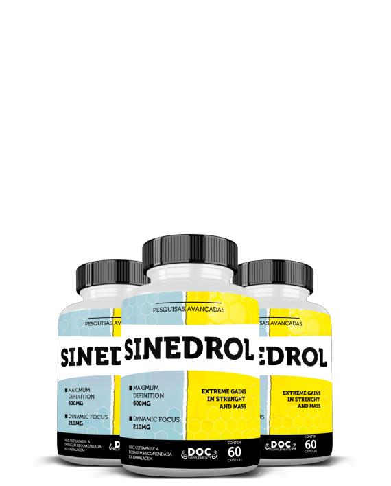 Sinedrol - Emagrecimento Força e Definição
