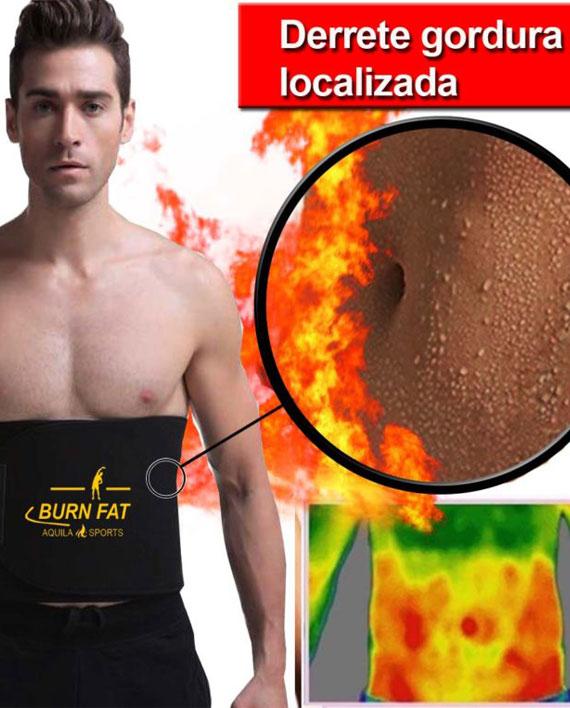 cinta modeladora queima gordura